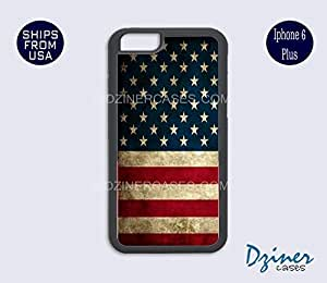 iPhone 6 Plus Case - Vintage USA Flag iPhone Cover