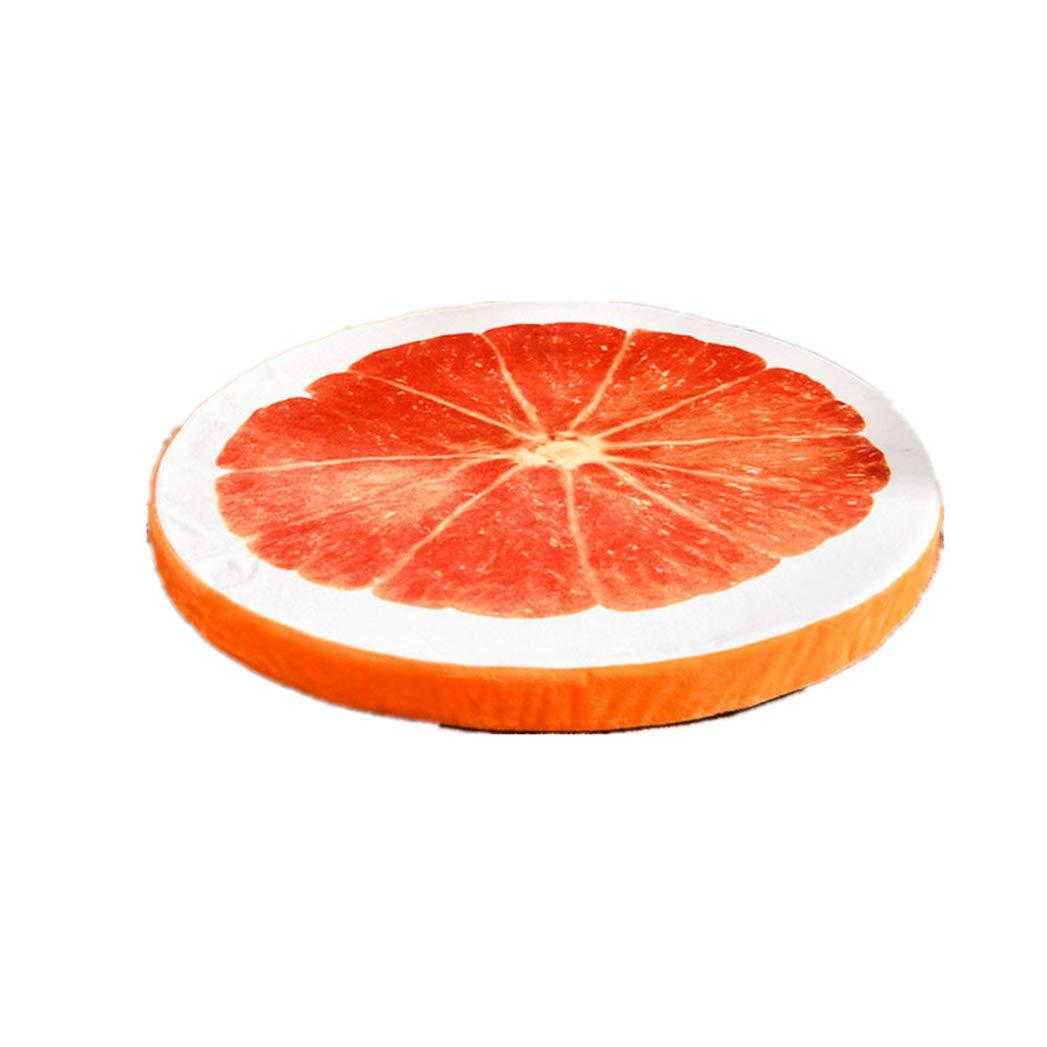 orange M orange M SENERY Dog Mat Kennel House,Warm Cute Modeling Dog Bed Sofa for Pet Cat Dog,Fruit Watermelon orange