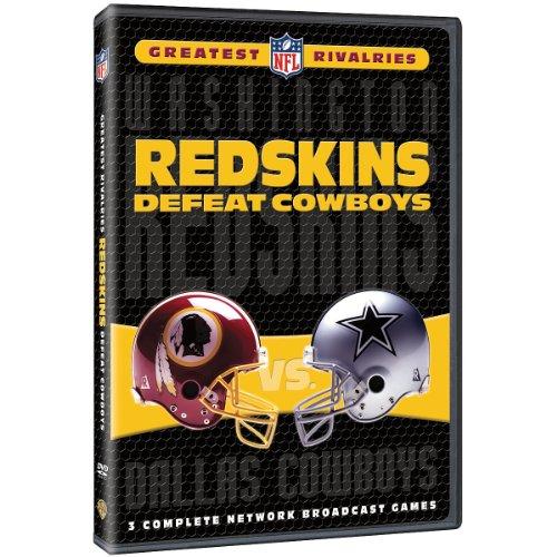Warner Brothers Washington Redskins NFL Greatest Rivalries: Redskins vs. Cowboys (Washington Dvd Redskins)