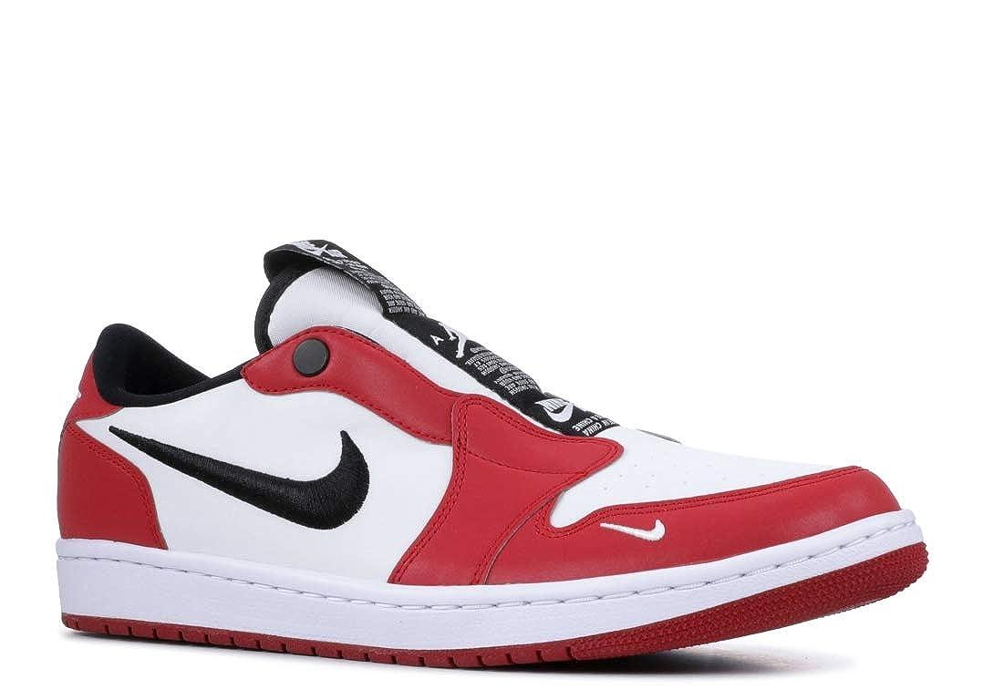 ba4718fa9c2 Amazon.com   Jordan WMNS Air 1 Low Slip NRG (Varsity Red/Black-White, 8W)    Fashion Sneakers
