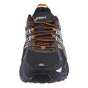 ASICS Men's Gel Venture 5 Running Shoe (12 D(M) US, Black/Shocking Orange/Duffel Bag)