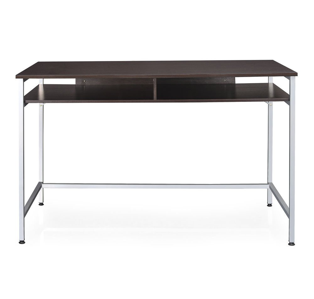 Nilkamal Stacy Office Table (Glossy Finish, Black): Amazon.in: Home ...