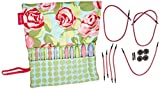 Denise2Go, Crochet for a Cure Interchangeable Crochet Hook Set ''Roses and Dots''