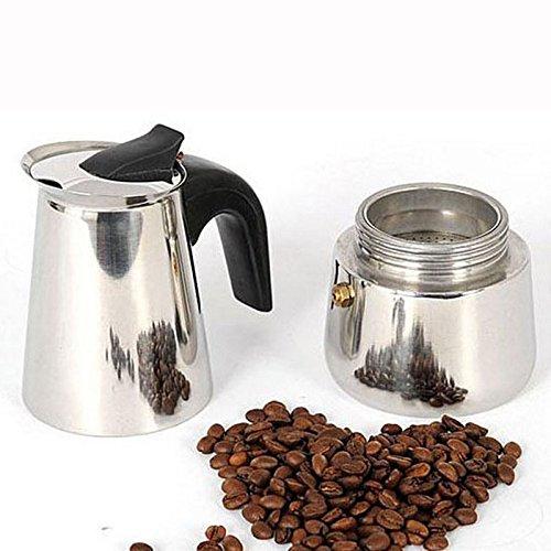 Ceramic Espresso Maker ~ Ml cup xidaje stainless steel moka stovetop