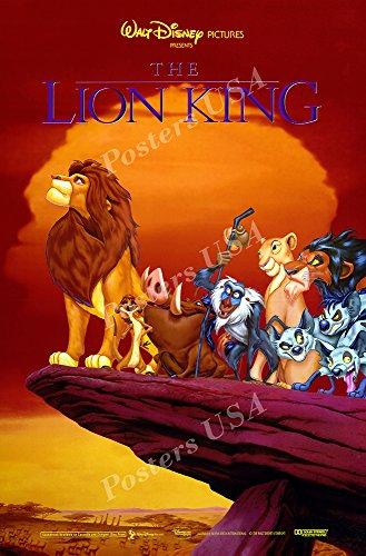 Posters USA Disney Classics The Lion King Poster - DISN085 )