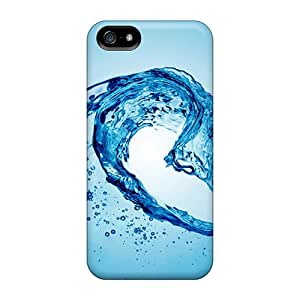 Protection Case For Iphone 5/5s / Case Cover For Iphone(water Wave Abstract Wallpaper)
