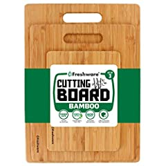 The ultimate slicing & chopping board for superb cutting dexterity!do you love cooking for friends and family? Do you crave for small chopped chicken wings with curry sauce? Are you a veggie fan who loves cutting vegetables and creating d...