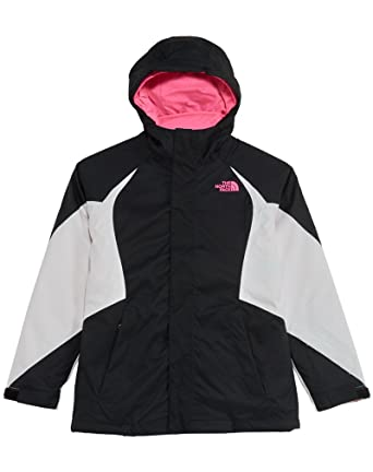 5ab2a6de9a5b Amazon.com  The North Face Girls  Kira Triclimate Jacket (Little Big ...