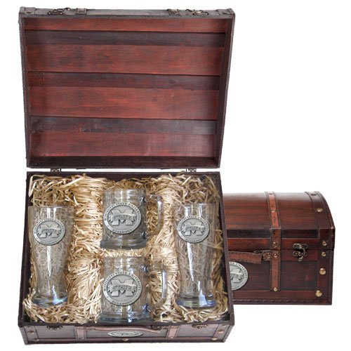 Mississippi State Bulldogs Beer Chest Set by Heritage Metalwork