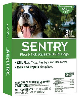 Sentry Flea And Tick Drops Tick And Mosquito For Dogs & Puppies