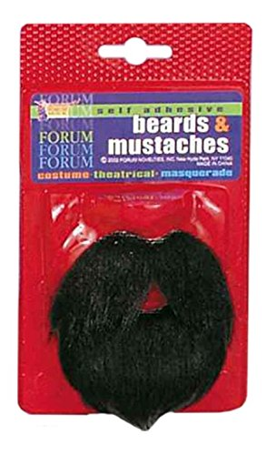 Forum Amigo Mustache Beard Black
