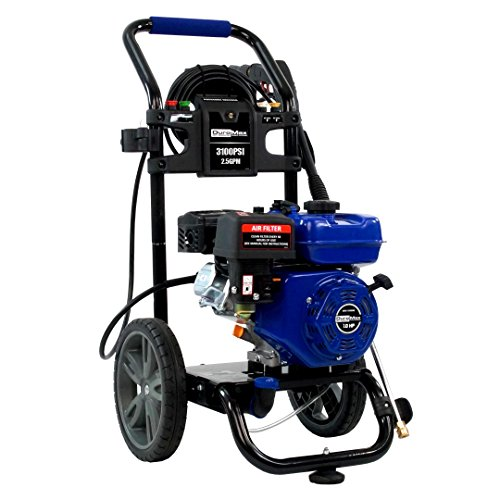 (Duromax XP3100PWT 2.5 GPM Gas Powered Cold Water Power Pressure Washer, 3100 PSI)