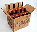 Tabanero Hot Sauce Picante 8oz Bottle - 12 Pack by Tabanero