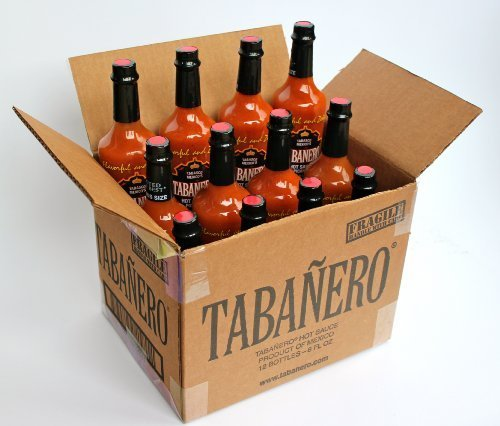Tabanero Hot Sauce Picante 8oz Bottle - 12 Pack by Tabanero by Tabanero