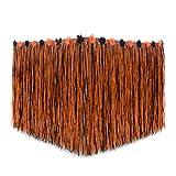 EBTOYS Table Skirt Hawaiian Desk Skirt Cover Artificial Grass Table Skirt for Hawaiian Party Decoration,Style A