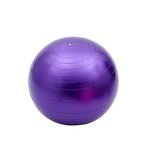 Ssery Balón de Yoga, balón de Fitness para Ejercicios de Espalda y ...