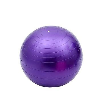 Ssery Balón de Yoga, balón de Fitness para Ejercicios de ...