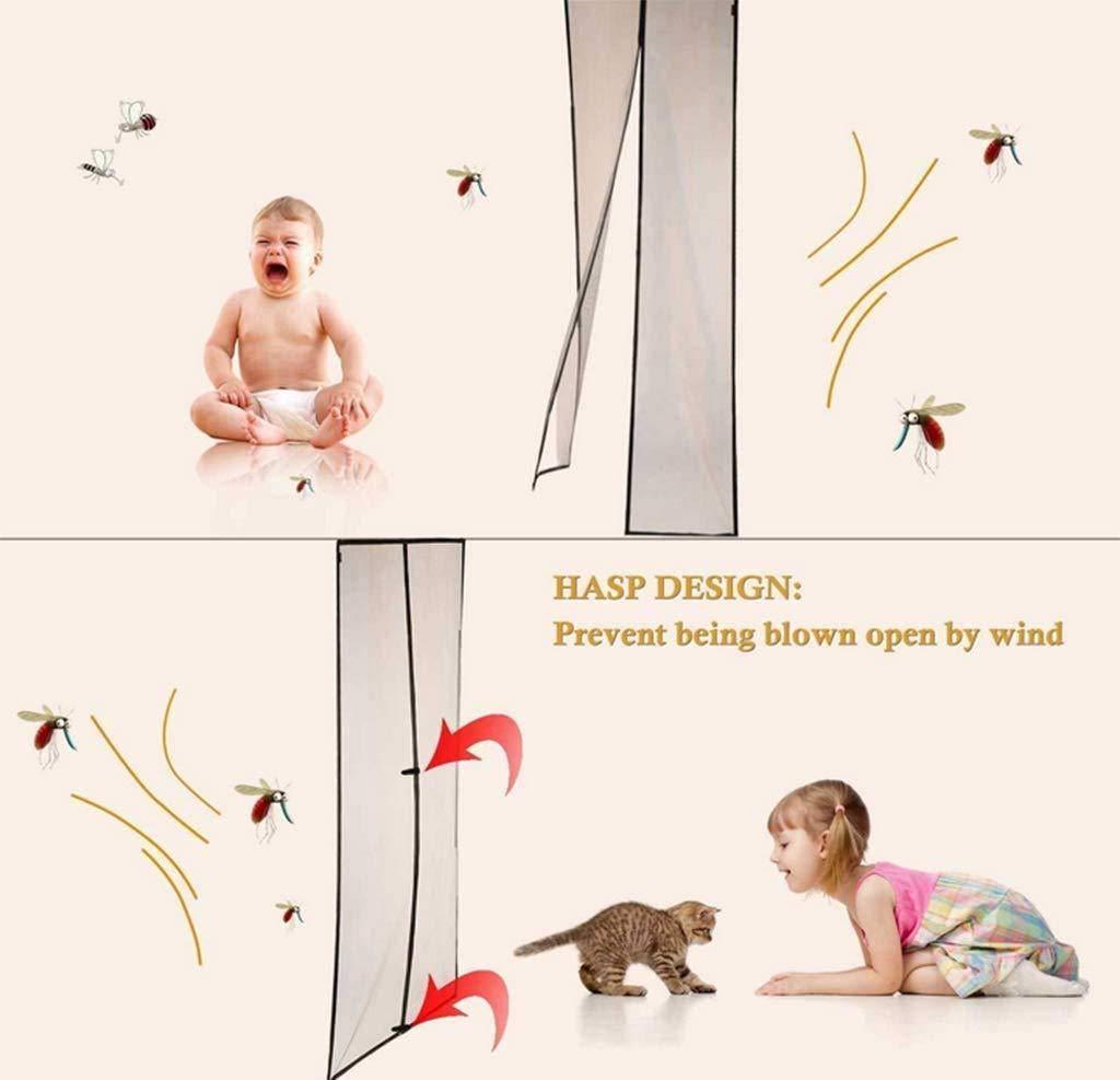 COAOC Mosquitera Puerta Mosquiteras Enrollables con Durable Anti Insectos Moscas y Mosquitos para Balcones Beige 40x92in/100x230CM: Amazon.es: Hogar