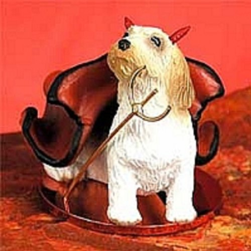 Petit Basset Griffon Vendeen Devilish Pet Figurine (Basset Griffon Vendeen Figurine)