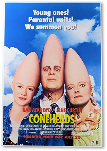 Dan Aykroyd Signed Autographed 13X19 Paperstock Photo Coneheads Poster GV801693