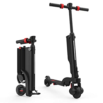 Amazon.com: MBEN - Patinete eléctrico plegable, 250 W, 15 KM ...