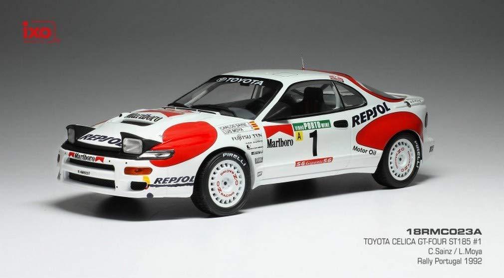 echa un vistazo a los más baratos 1992 Toyota Celica GT-4 (ST185) Rallye Portugal Portugal Portugal Carlos Sainz 1 18 IXO Models 18RMC023A  en stock