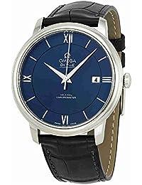 De Ville Prestige Blue Dial Mens Watch 42413402003001