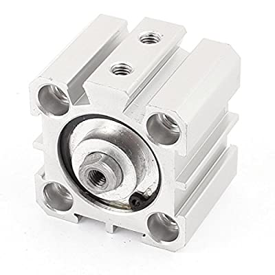 SDA25x10 Aluminum Alloy Single Rod Dual Action Pneumatic Air Cylinder