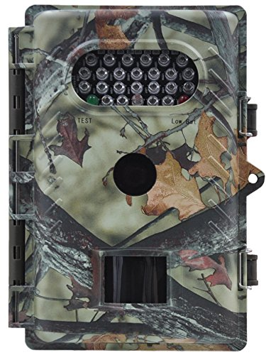 ZenNutt HD Game & Trail Camera 8 MP 720P Low Glow Infrared Night Vision Motion Activated Wildlife Deer Hunting Cameras with Full Color Day Images & IP54 Water Protected Design & Time Stamp
