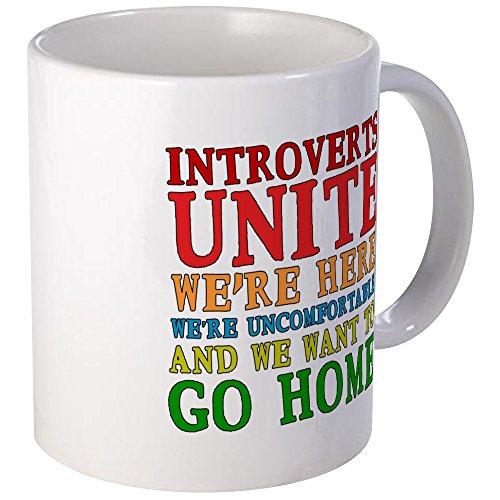 CafePress Introverts Unite Unique Coffee product image