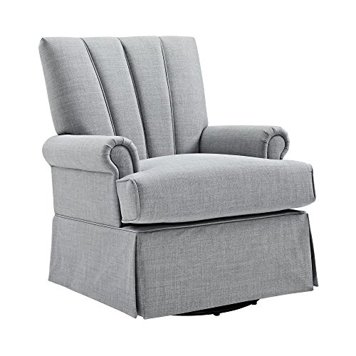 Baby Relax Parsons Swivel Glider, Dove Gray by Baby Relax