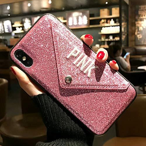 Wallet Pink Leather Fashion Hot Case iPhone Plus XS Max - John_Kendy - 1 PCs
