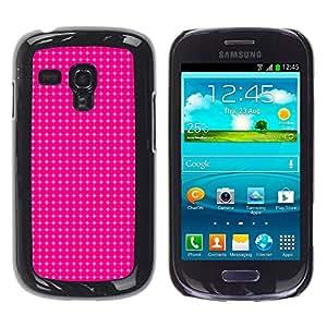 Caucho caso de Shell duro de la cubierta de accesorios de protección BY RAYDREAMMM - Samsung Galaxy S3 MINI NOT REGULAR! I8190 I8190N - Simple Pattern 12