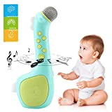 Samber Kids Magic Microphone Speaker with Voices Changing and Recording for 3-12 Year Old Children's /Green