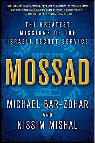 Michael Bar-Zohar, Nissim Mishal - Mossad Audiobook Free Online