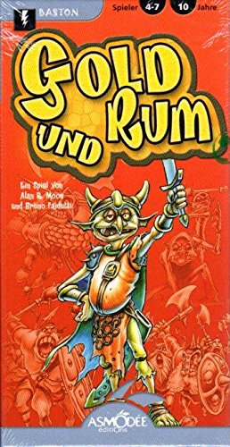- Card Games - Assorted Asmodee Editions Gold und Rum (German Edition) SW