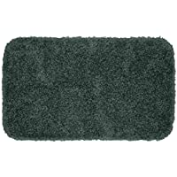 Garland Rug Serendipity Shaggy Washable Nylon Rug, 24-Inch by 40-Inch, Dark Gray