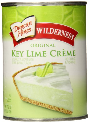 Wilderness Original Pie Filling & Topping, Key Lime Creme, 22 Ounce (Pack of 8) by Wilderness