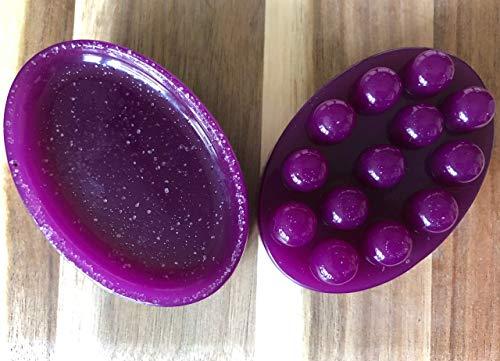 Purple Spa Sugarcane Massage & Bath Bar 2 Pack