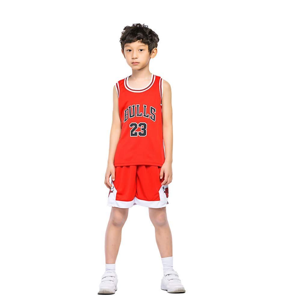KSWX Camiseta de Baloncesto Niño Bulls 23 Michael Jordan Traje De ...