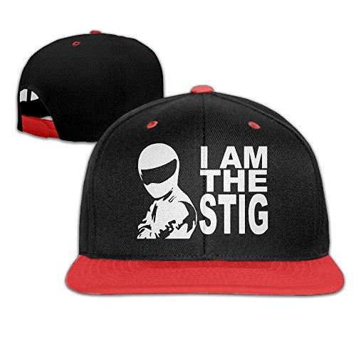 MaNeg I Am The Stig Unisex Hip Hop Baseball - Uk Chanel Shop Online
