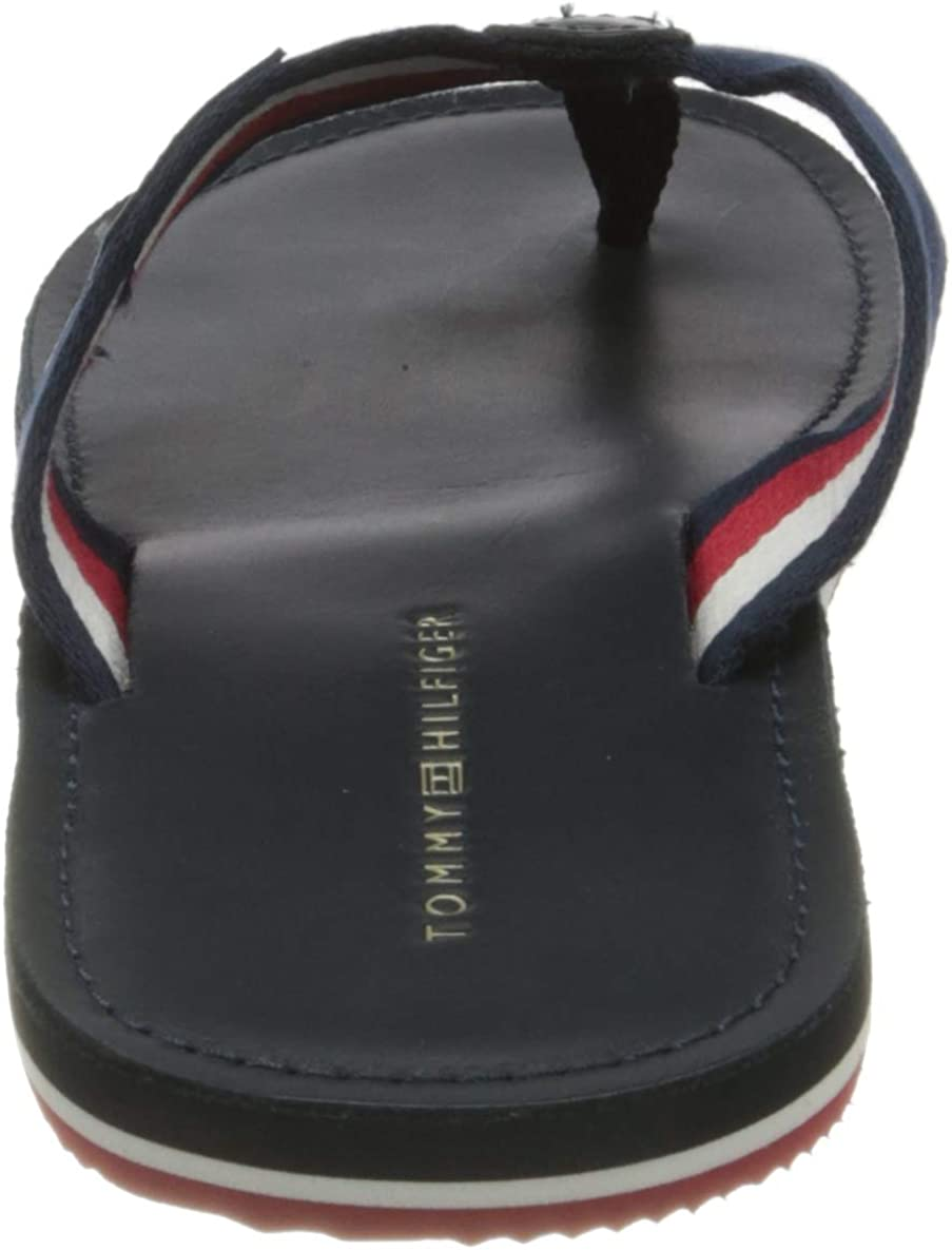 Bout Ouvert Homme Tommy Hilfiger Elevated Th Leather Beach Sandal