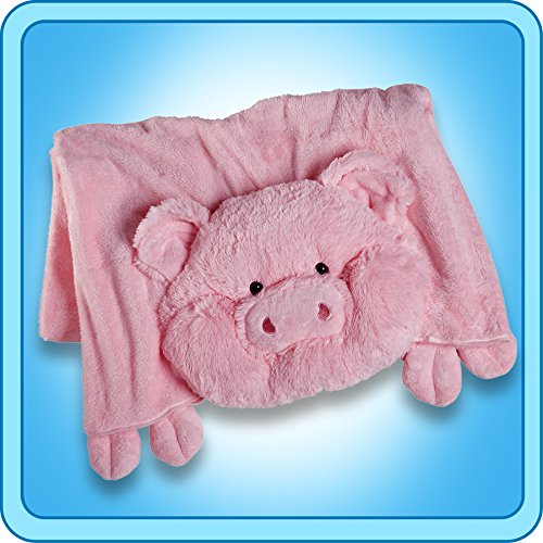 The Original My Pillow Pets Pig Blanket (Pink)