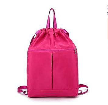 mochilas mujer universidad vans,mochilas mujer universidad roxy, Hilatura de Oxford,44*35*13CM,Rosa roja: Amazon.es: Deportes y aire libre