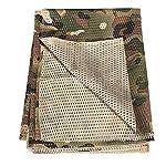 YAOBAO Filet De Camouflage, Filet Tactique en Filet Camo Écharpe Sniper Voile, Camouflez Votre Cou, Votre Visage Et… 10