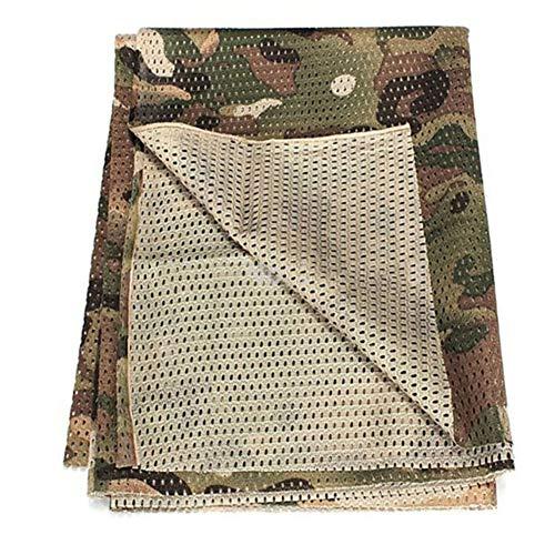YAOBAO Filet De Camouflage, Filet Tactique en Filet Camo Écharpe Sniper Voile, Camouflez Votre Cou, Votre Visage Et… 3