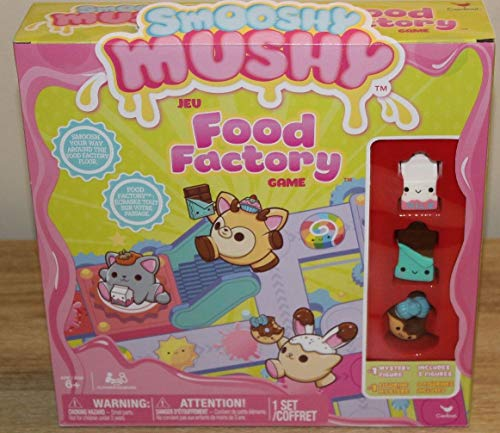 Smoosh Mushy Food Factory Board Game Toy Gift -1 Mystery Figure / 3 Figures- New ()
