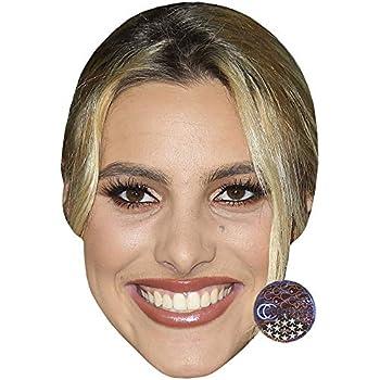 Celebrity Mask Card Face and Fancy Dress Mask Lil Peep Love