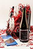 Feelin' Frisky Bubbly Sparkling Oregon Wine and Chocolate Gift Set, 1 x 750 mL