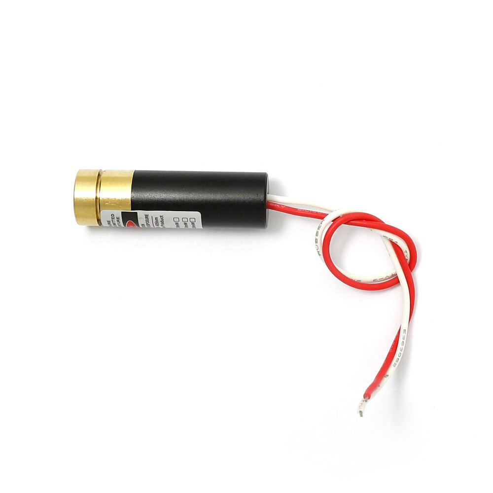 20mw 405nm Violet/Blue Focusable Adjustable Point Laser Module with Cable Q-BAIHE 405MD-20-1342-F-CA